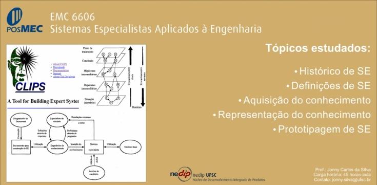 EMC 6607 - Sistemas especialistas aplicados à engenharia